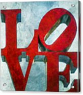 Old Love Acrylic Print
