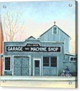 Old Machine Shop Acrylic Print