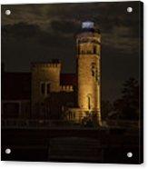 Old Mackinac Point Light, Mackinaw City Mi Acrylic Print