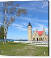 Old Mackinaw Point Light Acrylic Print