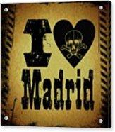 Old Madrid Acrylic Print