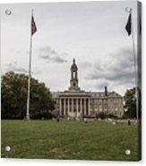 Old Main Penn State Wide Shot  Acrylic Print
