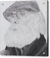 Old Man With Beard Acrylic Print