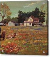 Old Mazoch Farm Acrylic Print