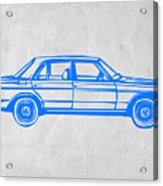 Old Mercedes Benz Acrylic Print