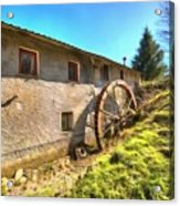 Old Mill - Antico Mulino Acrylic Print