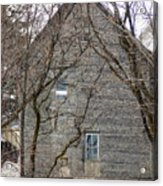 Old Mill Building Acrylic Print