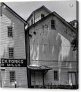 Old Mill Buildings Acrylic Print