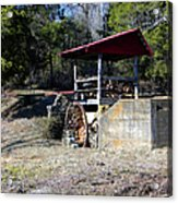 Old Mill Of Guilford Pumphouse Acrylic Print