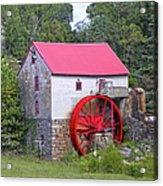 Old Mill Of Guilford Squared Acrylic Print
