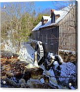 Old Mill On The Tom Tigney River, Nova Scotia Acrylic Print