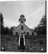 Old Mission Point Lighthouse Acrylic Print