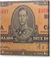 Old Money Acrylic Print