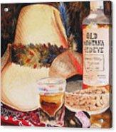 Old Montana Red Eye Acrylic Print