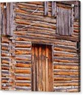 Old Mormon Barn Acrylic Print