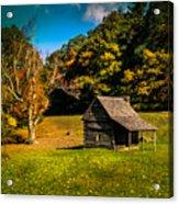 Old Mountain House Acrylic Print