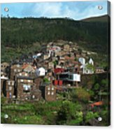 Old Moutain Village In Portugal Acrylic Print