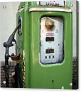 Old National Gas Pump Acrylic Print