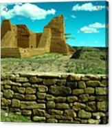 Old New Mexico Acrylic Print