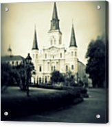Old New Orleans Acrylic Print