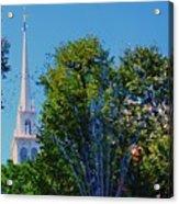 Old North Church, Boston # 3 Acrylic Print