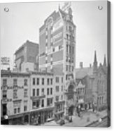 Old Nyc New Amsterdam Theater Photograph - 1905 Acrylic Print