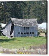 Old Oak Harbor Barn Ba 9209 Acrylic Print