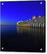 Old Orchard Beach Pier At Sunrise Acrylic Print