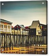 Old Orchard Beach Pier Acrylic Print
