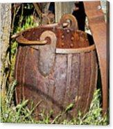 Old Ore Bucket Acrylic Print