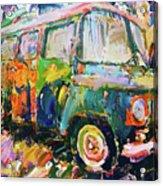 Old Paint Car Acrylic Print