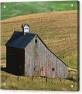 Old Palouse Barn Acrylic Print