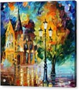 Old Part Of France Acrylic Print