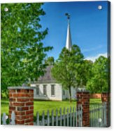 Old Peace Chapel Defiance Mo 7r2_dsc6739_04252017 Acrylic Print
