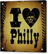 Old Philadelphia Acrylic Print