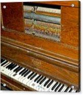 Old Piano Acrylic Print