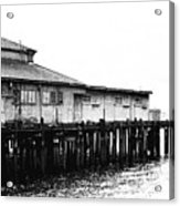 Old Pier Acrylic Print