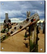 Old Pilings Acrylic Print
