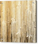 Old Planked Wood Used As Background Acrylic Print