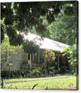 Old Plantation House Acrylic Print