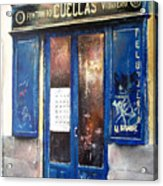 Old Plumbing-madrid  Acrylic Print by Tomas Castano