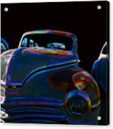 Old Plymouth Old Cars Acrylic Print