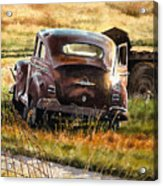 Old Plymouth Acrylic Print