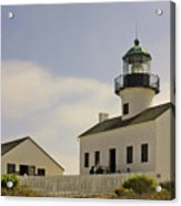 Old Point Loma Lighthouse - Cabrillo National Monument San Diego Ca Acrylic Print