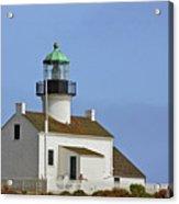 Old Point Loma Lighthouse San Diego California Acrylic Print