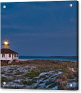 Old Port Boca Grande Lighthouse Acrylic Print by Rich Leighton