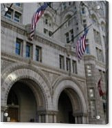 Old Post Office Acrylic Print