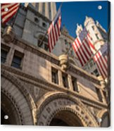 Old Post Office Washington D C Acrylic Print