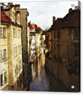 Old Prague Acrylic Print