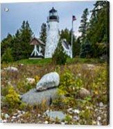 Old Presque Isle Lighthouse Acrylic Print